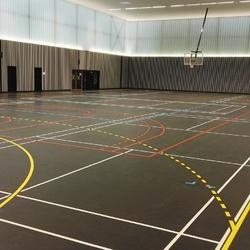 Marquage revêtement sportif - Poitiers - TRACE PLUS