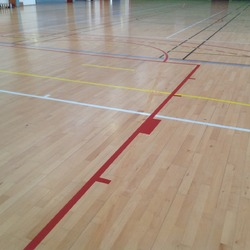 mise aux normes basket - Auxerre - TRACE PLUS
