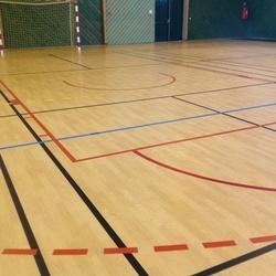 Peinture terrain de basket - Limoge - TRACE PLUS