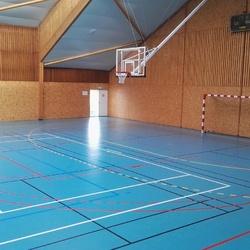 Tracé terrain gymnase - Bourges - TRACE PLUS