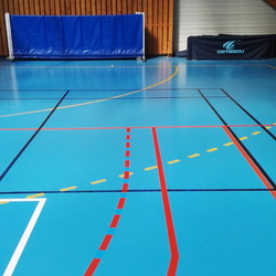 Mise au normes basket - Angers - TRACE PLUS