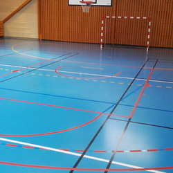 Modification terrain de basket - Angers - TRACE PLUS