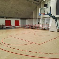 tracés terrain basket - Perpignan - Trace Plus