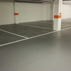 Peinture stationnement parking - Angers - TRACE PLUS