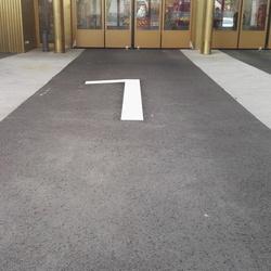 Marquage sol peinture - Laval - trace plus