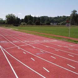 Retraçage lignes athlétisme - ROUEN - TRACE PLUS