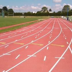 Rénovation piste athlétisme - île de France - TRACE PLUS