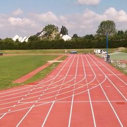 Retraçage lignes athlétisme - Toulouse - TRACE PLUS