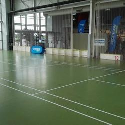 Lignes de jeux de badminton DECATHLON ANGERS - TRACE PLUS