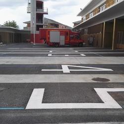 marquage au sol peinture - Angers - Trace Plus
