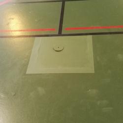 Réparation sol salle de sport - TRACE PLUS
