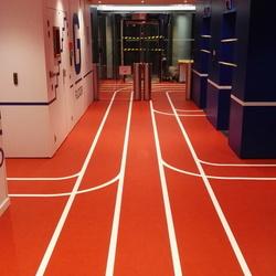 couloir athlétisme - Angers - TRACE PLUS