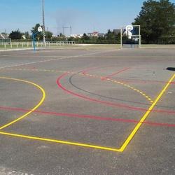 Réfection lignes terrain - Angers - TRACE PLUS