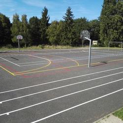 Peintre terrains sports extérieurs - Bretagne - Trace Plus
