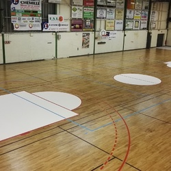Raquette basketball - Angers - TRACE PLUS