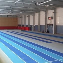 Retraçage piste athlétisme - Paris - TRACE PLUS