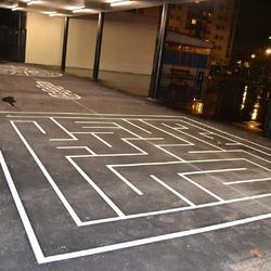 Labyrinthe peint - TRACE PLUS