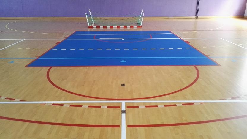 Peinture lignes terrains sports - Toulouse - Midi Pyrénées - Sarl Trace Plus