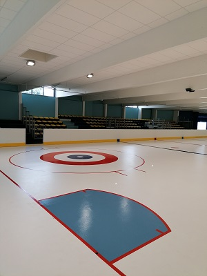 Tracé Curling Patinoire - Trace Plus