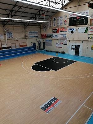 rénovation terrain basket-ball - Le Mans 72 - Trace Plus