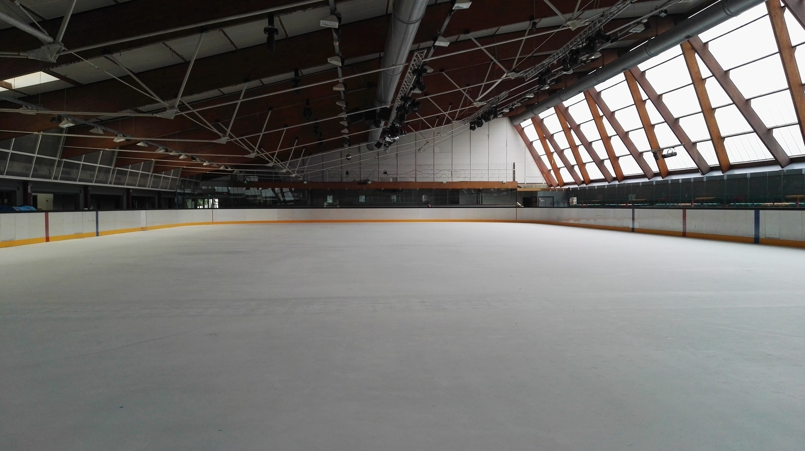 Marquage au sol - Tracé Terrain de hockey - Patinoire