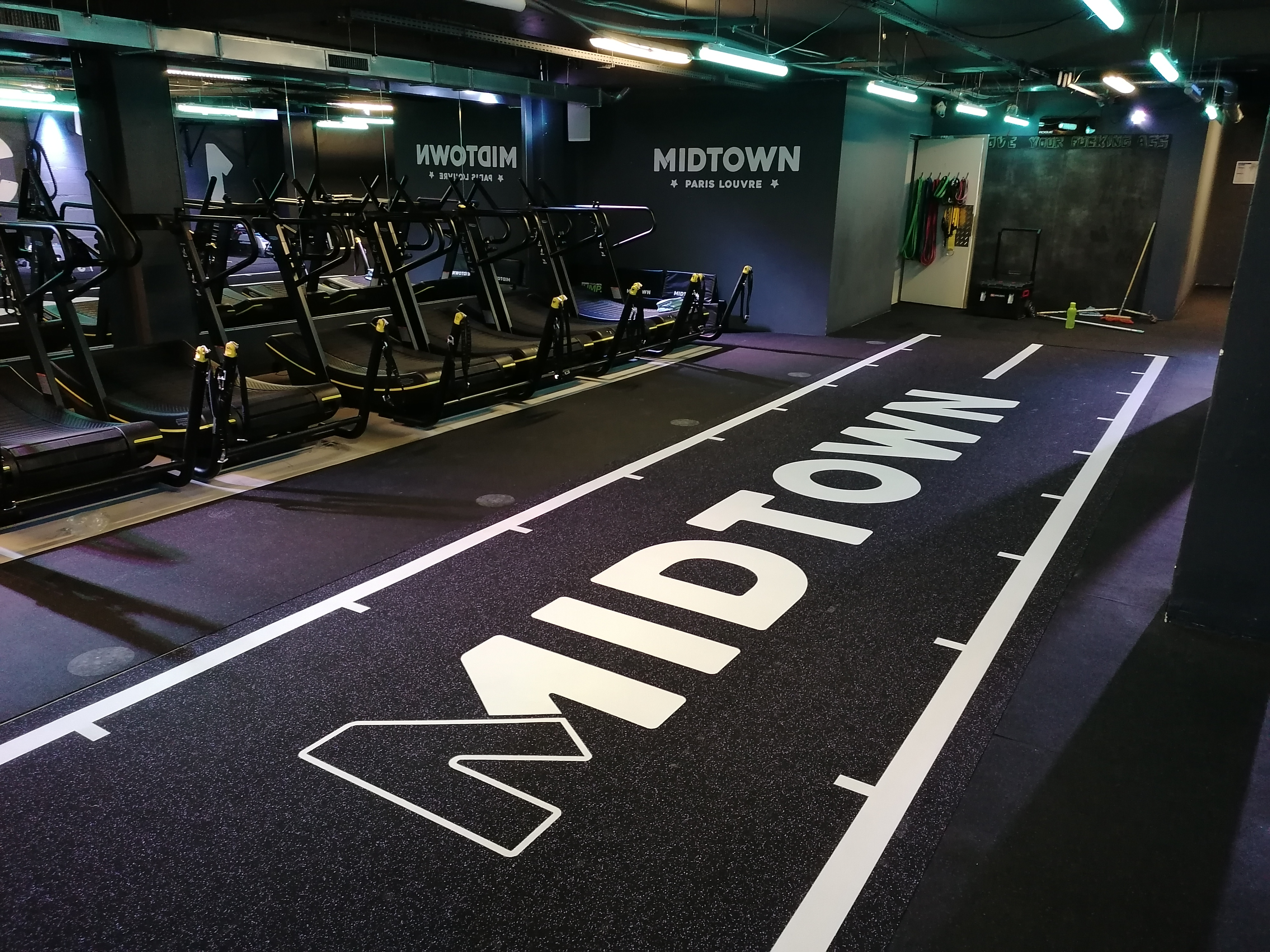 Piste de course Crossfit - Paris - Sarl Trace Plus