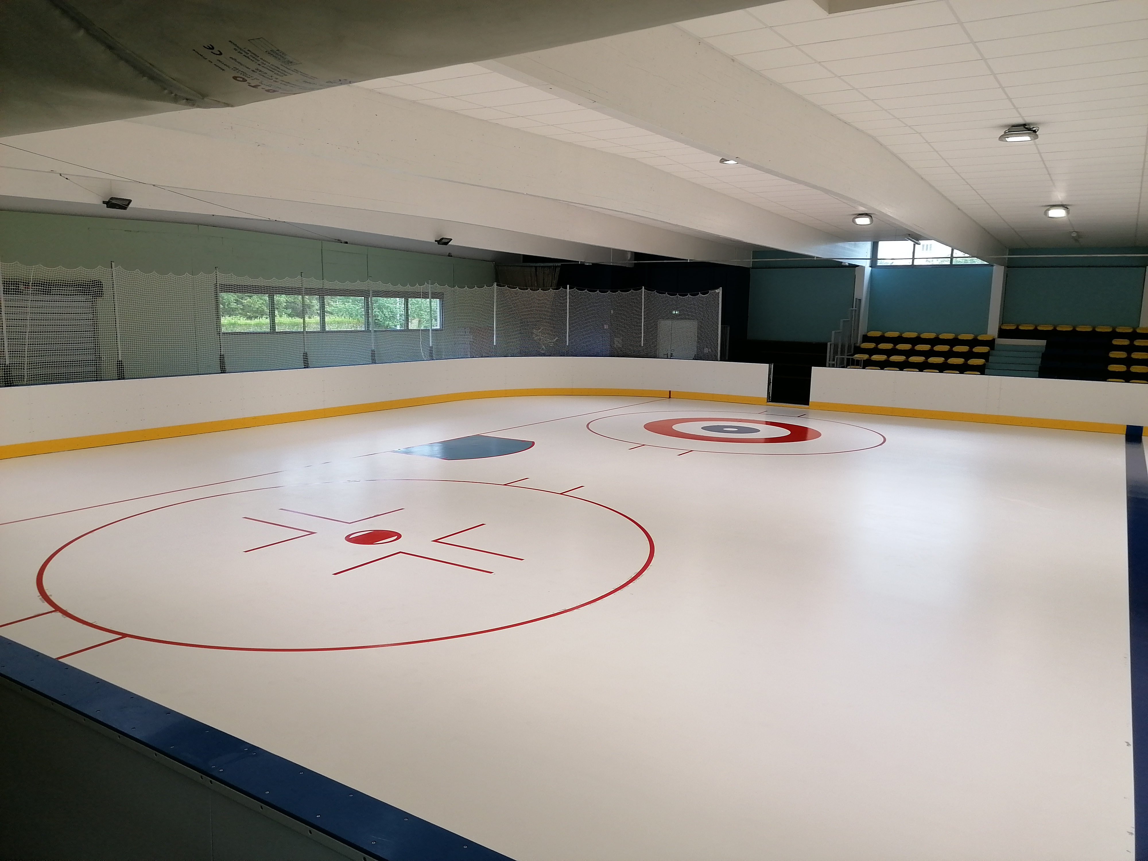 Tracé Hockey curling - Patinoire - Sarl Trace Plus